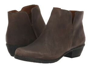 Women's Shoes Clarks WILROSE FROST Low Heel Ankle Booties 37873 TAUPE LEATHER