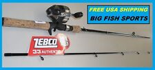 "ZEBCO 33 SPINCAST 6' 6"" Cork Composite Fishing Combo NEW! #33CC662M FREE US SHIP"