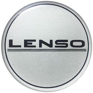 4X 60mm  LENSO Sticker Resin Emblem Decalem logo
