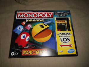 Monopoly PACMAN Pac-man Hasbro Gaming Gesellschaftsspiel Brettspiel Neu Ovp