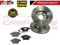 FOR VW PASSAT 3C2 3C5 1.9 2.0 05-10 FRONT BRAKE DISC DISCS PAD PADS SET NEW