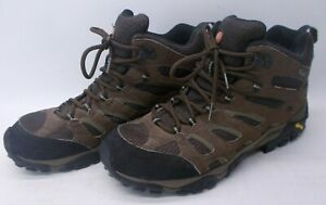 Merrell Moab Mid Gore-Tex Dark Earth Men's Hiking Boots Size 12