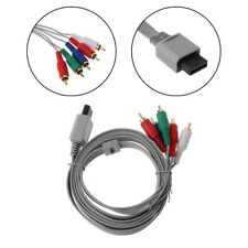 Component 1080P HDTV AV Audio 5RCA Adapter Cable 1.8m For Nintendo Wii Console