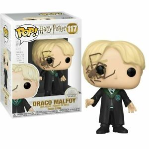 "HARRY POTTER -  DRACO MALFOY WHIP SPIDER 3.75"" POP VINYL FIGURE FUNKO NEW 117"