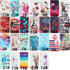 Phone Magnetic PU Leather Wallet Flip Stand Case Cover For LG G3 G4 G2 Mini Leon