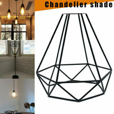 INDUSTRIAL WIRE CAGE STYLE RETRO CEILING PENDANT LIGHT LAMP SHADE METAL FAST HOT
