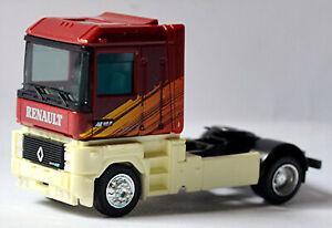 Renault AE Magnum 2achs Tête de Tracteur 1990-2001 Rouge Foncé Rouge 1:87 Albedo