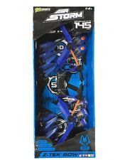 Zing Sportz Air Storm Z-Tek Bow & Arrows Up To 145 Feet Team Wolf - Blue