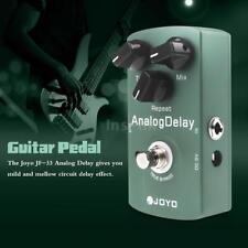 Joyo JF-33 True Bypass Analog Delay chitarra elettrica effetto pedale verde S6T9
