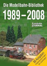 Ferrocarril Journal DVD-el modelo ferroviario biblioteca 1989-2008