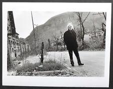 Josef Koudelka - Following Ulysses' Gaze 1996 - Gian Maria Volonte - Mostar 1994