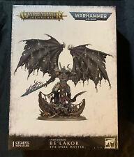 New! Chaos Daemons Be'Lakor Age of Sigmar Warhammer 40k Soulblight Belakor Demon
