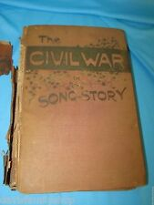 The Civil War in Song and Story by Frank Moore 1889 Hardcover Book