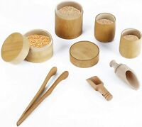 Sensory Bin Toys Montessori Toy for Toddlers Wooden Toys Scoops and Tongs