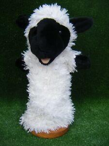 "THE PUPPET CO  SHEEP LAMB HAND GLOVE PUPPET 13"" APPROX (B120)"