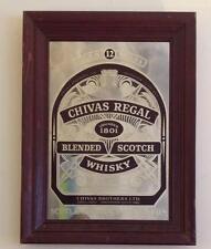 VINTAGE Chivas Regal Blended Scotch Whisky Bar Mirror 23 X 17