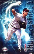 2003 John Smoltz  Atlanta Braves Original Starline Action Poster