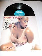 "QUARTZ LOCK featuring LONNIE GORDON - Love Eviction - 1996 UK 12"" Vinyl Single"