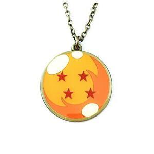 Dragon Ball Z Logo Fashion Novelty Pendant Necklace Anime Manga Series