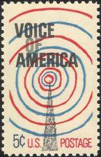 USA 1967 Voice of America/Radio Mast/Tower/Broadcasting/Communications 1v n44999