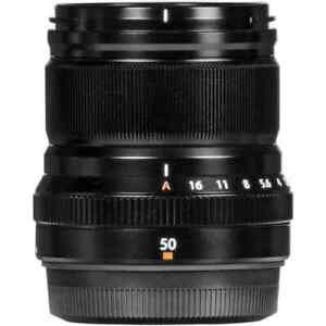 Fujifilm - XF 50mm f/2 WR Lens Black