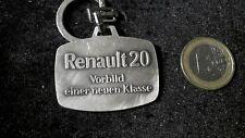 Renault 20 original Vintage Schlüsselanhänger Keyring Vorbild einer neuen Klasse