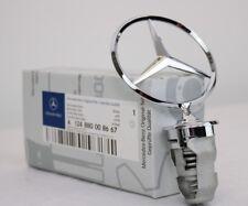Mercedes-Benz Stern Motorhaube W123 W124 W126 W201 Chrom Haube A124880008667