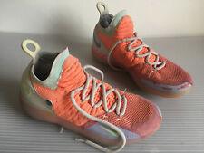 Nike Zoom KD11 EYBL Peach Jam Men's sz 10.5 Hot Punch Lime Blast AO2604-600