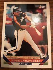 1993 Topps Pete Incaviglia Houston Astros 7