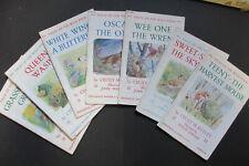 Cecily M. Rutley, Queen Wasp, Grasshopper Green, Oscar the Otter, etc. 8 titles