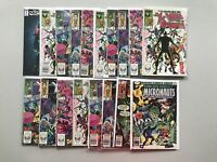 Lot 18 X-Men and the Micronauts 1-4 w/ duplicates #18 Annual #1 FN-VF Very Fine