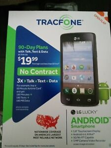 Tracfone LG Lucky Android Smart Cell Phone ... FREE SHIPPING ...