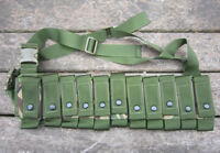 NEW BCB BRITISH ARMY SURPLUS ISSUE DPM IRR UGL BANDOLIER,PLCE WEBBING POUCH,UK