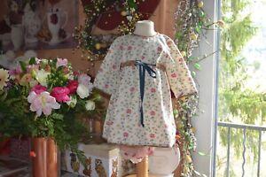 robe bonpoint 2 ans ravissante etat parfait toute fleurie manches longues