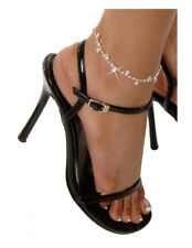 SEXY Daisy Rhinestone Ankle Bracelet One Size Lingerie Wedding Anklet Anniversar