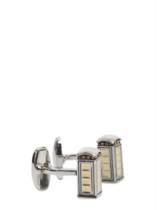Paul Smith Cufflinks -BNWT Gold & Silver London Telephone Box Cufflinks RRP:£100