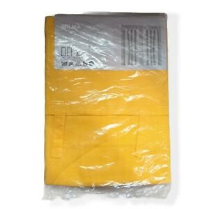 """New Ikea Wilma Curtains 57 X 98"""" Yellow (2) Panels in Package"""