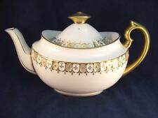 Spectacular Royal Crown Derby Gold Heraldic Teapot and Lid