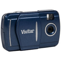 Vivitar 3-in-1 LCD Fixed Zoom Digital Camera, Photos and Videos - Blue (V69379)