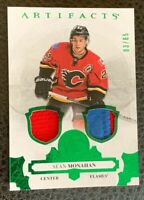 2017-18 UD Artifacts Alberta Flag Patch Sean Monahan