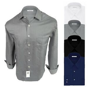Van Heusen Mens Dress Shirt Big or Tall Fit Pocket No Iron Lux Sateen Casual