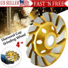 4inch Diamond Segment Grinding Wheel Disc Grinder Cup Concrete Stone Cut USA