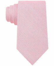$125 CALVIN KLEIN Men`s CHECK DOT WHITE PINK NECK TIE CASUAL NECKTIE 60X3.25