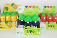 Portable Kids Toy Manual Hand Fan Mini Summer Cooling Strawberry Pineapple Grape
