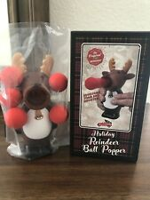 Christmas Holliday Raindeer Ballpopper (5 Foam Balls Included) New in Box