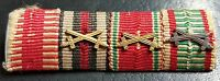 ✚7607✚ German Austria Hungary ribbon bar WW1 Karl Troop War Commemorative Medal