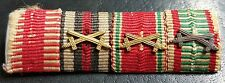 ✚7607✚ German Austria Hungary ribbon bar WW1 Karl Troop War Commemorative Medal