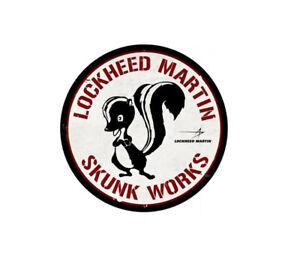 Lockheed Martin Skunk Works Sticker Vinyl Decal 4x4 inch 7-189