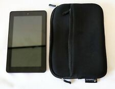 """Amazon Kindle Fire 7""""  5th Gen Model SV98LN Tablet with Case TESTED Works"""