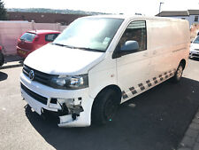 2013 VW TRANSPORTER T5 T32 2.0 TDI TRENDLINE LWB CAMPER DAY VAN DAMAGED SALVAGE